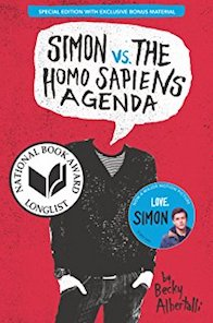 Simon vs homosapiens agenda book cover