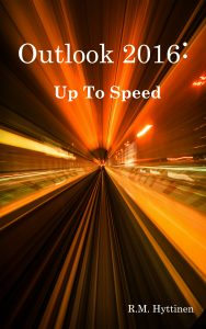Outlook 2016: Up to Speed Cover