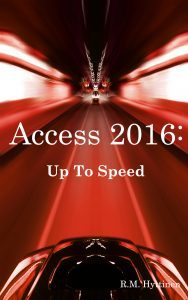 Microsoft Access Up to Speed guide