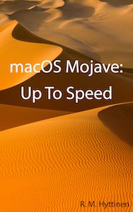 macOS Mojave Up to Speed cover