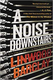 A noise downstairs book cover