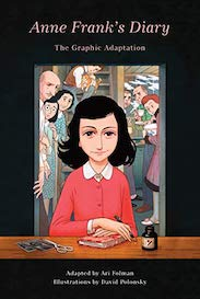 Anne franks diary graphic novel cover