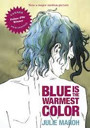 Blue is the warmest color book cover