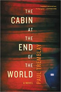 Cabin at the end of the world book cover