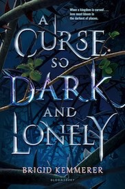 Curse so dark and lonely book cover