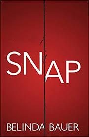 Snap cover Belinda Bauer