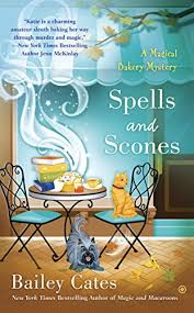 Spells and scones book cover